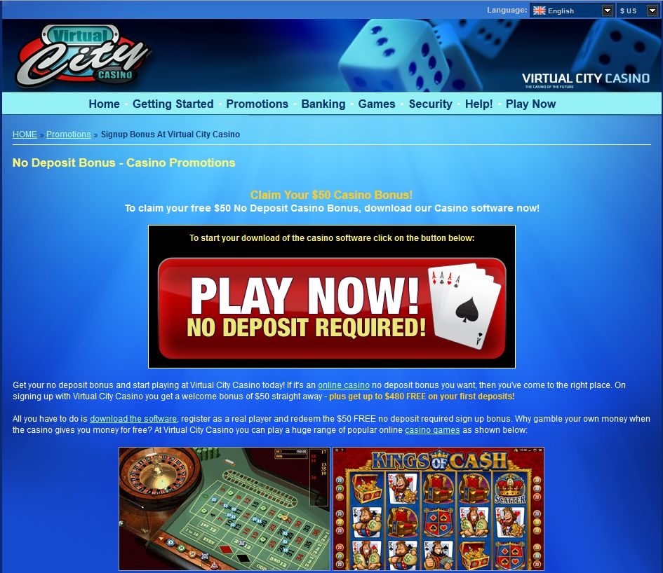 virtual city casino mobile